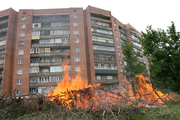 За прошедшую неделю Краматорске произошло 8 пожаров - Новости Краматорска
