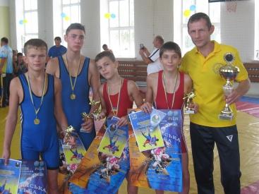 Краматорские борцы успешно выступили на Всеукраинском чемпионате - Новости Краматорска
