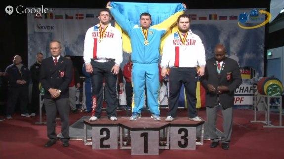 Краматорчанин стал чемпионом Европы по пауэрлифтингу - Новости Краматорска