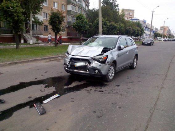 Авария на б.Краматорском (Фотофакт) - Новости Краматорска